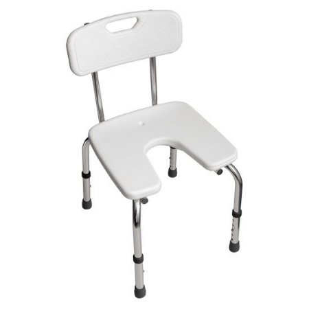 Cadeira para Banho com Encosto e Assento U