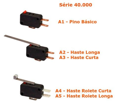 Micro Switch Margirius Mini - Série 40.000