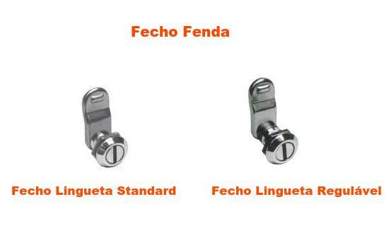 Fecho Lingueta Fenda