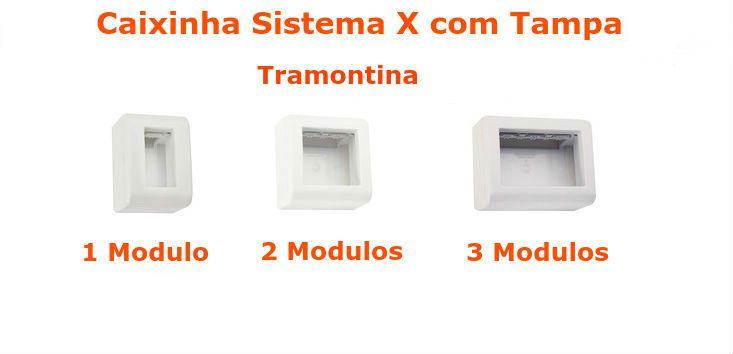 Caixinha Sistema X Tramontina com Tampa