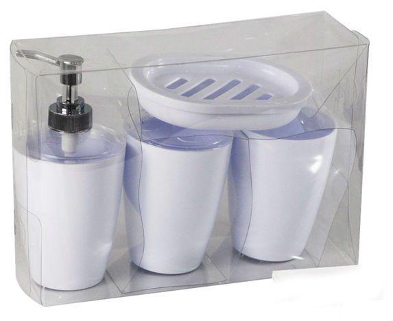 Acessorios Banheiro Classic - Kit 4 Peças