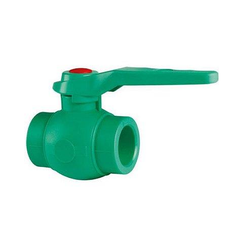PPR Verde - Valvula Esfera 25mm