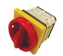 Chave Rotativa THS Embutir Liga / Desliga com Porta Cadeado A3