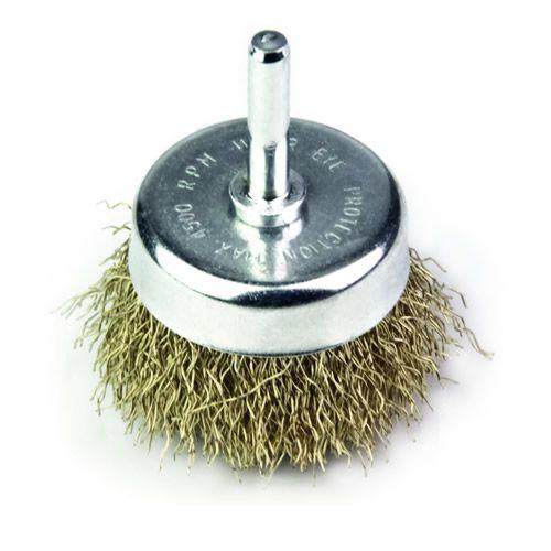 Escova de Aço Tipo Copo com Haste