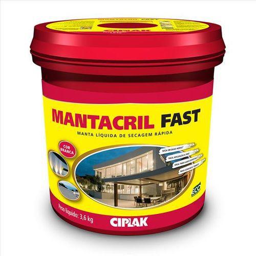Manta Liquida - Mantacril Fast Branco 3,6litros