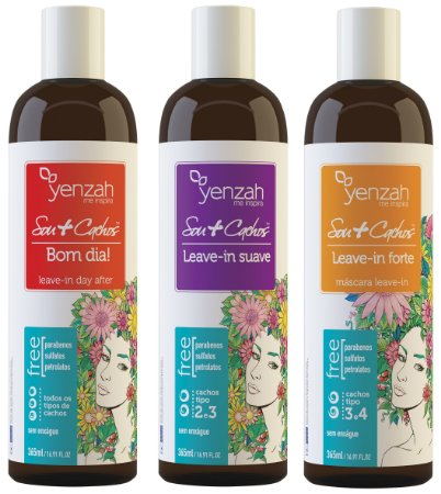 Yenzah Leave in Sou + Cachos - 365ml