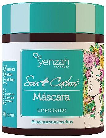Yenzah Máscara Umectante Sou + Cachos - 480g