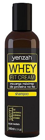 Yenzah Shampoo Whey Fit Cream - 240ml