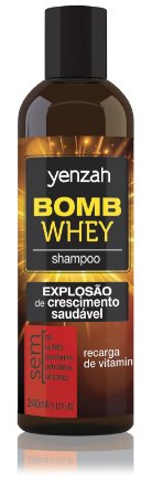 Yenzah Shampoo Whey Bomb Cream - 240ml