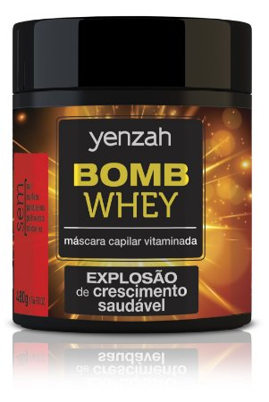 Yenzah Máscara Whey Bomb Cream