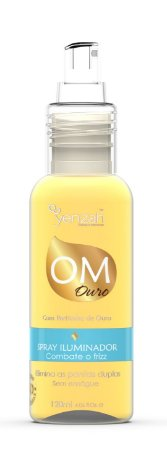 Yenzah Spray Iluminador OM Ouro 120 ml