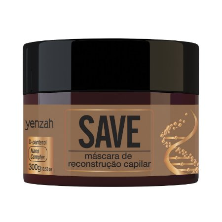 Yenzah Máscara SAVE - RECONSTRUÇÃO - 300g