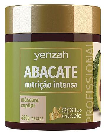 Yenzah Máscara de Abacate - Nutrição Intensiva - Linha SPA do Cabelo
