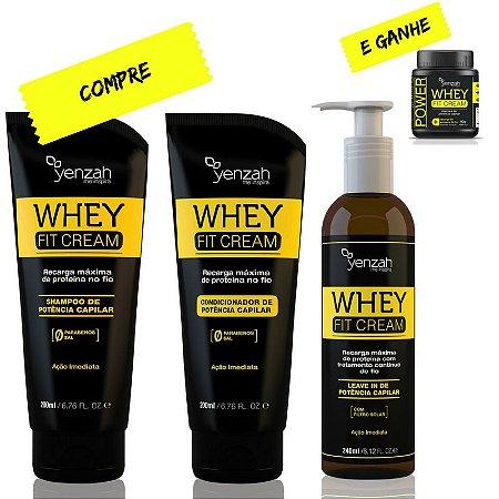 Yenzah Whey Fit Cream - Compre o Kit e Ganhe a Máscara de 90g