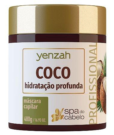 Yenzah Máscara de Coco - Hidratação Profunda - Linha SPA do Cabelo