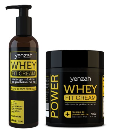Whey Fit Cream: Leave-in + Máscara