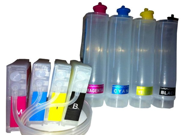 BULK INK MONTADO  CHIP PARA HP OFFICEJET 7110/7610 -7510