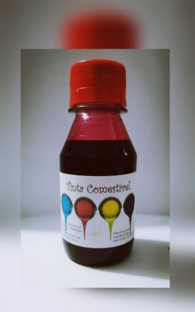 Tinta comestivel 250 ml HP