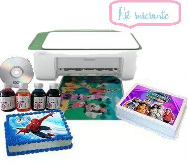 Kit bolo para iniciantes com bulk ink instalado