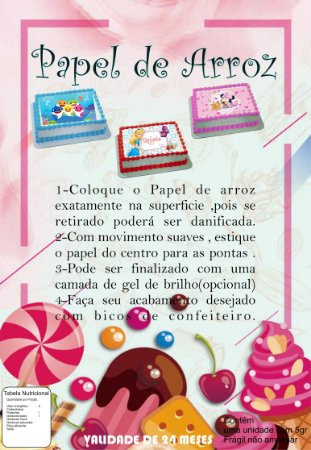 FOLHA DE INSTRUÇÃO - TAMANHO A4 - 100 FOLHAS