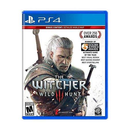 The Witcher III: Wild Hunt  - PS4 (Usado)