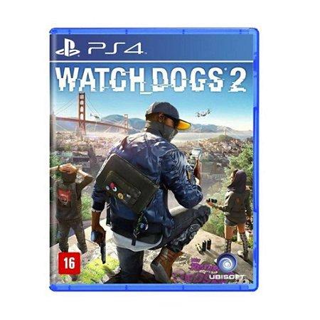 Jogo Watch Dogs 2 - PS4 (Usado)