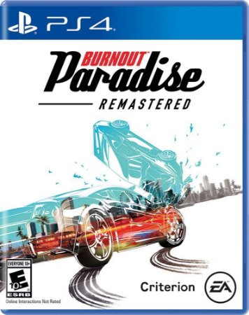 Jogo Burnout Paradise Remastered - PS4