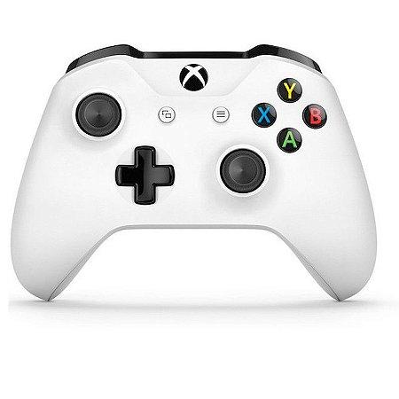 Controle Microsoft Branco - Xbox One S
