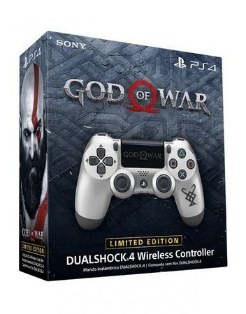 CONTROLE DUALSHOCK 4 GOD OF WAR LIMITED EDITION PS4