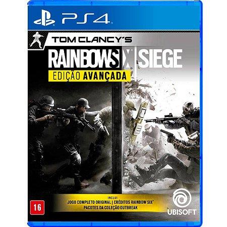 Game Tom Clancy's Rainbow Six Siege: Edição Avançada - PS4