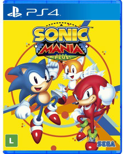 Jogo Sonic Mania Plus - PS4