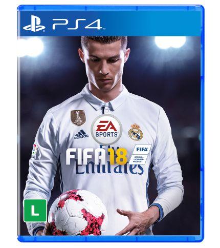 Jogo Fifa 18 Ps4 - Usado