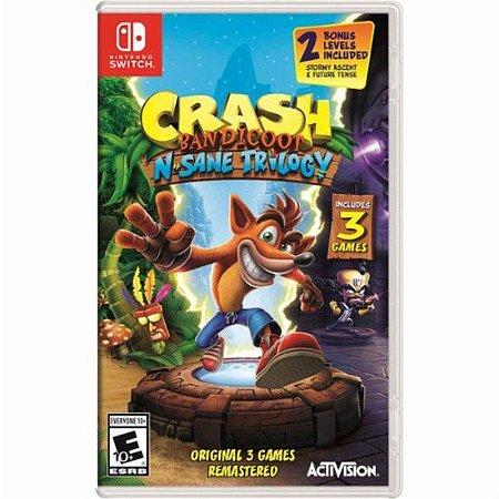 Crash Bandicoot N. Sane Trilogia - Switch