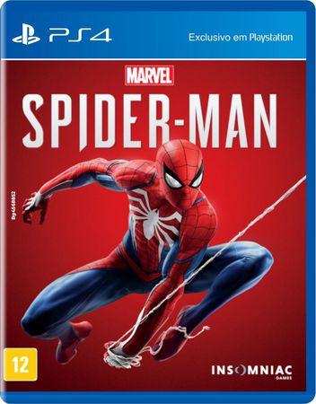 Jogo Marvel's Spider-Man - PS4 ( Usado )