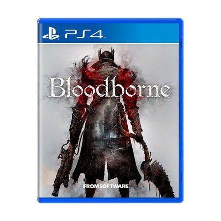 Jogo Bloodborne Ps4 ( Usado )
