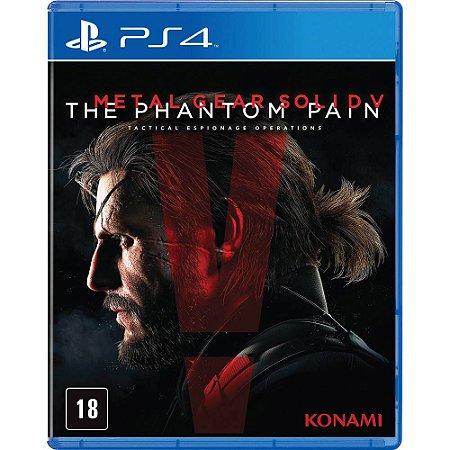 Jogo Metal Gear Solid V: The Phantom Pain - PS4 ( Usado )