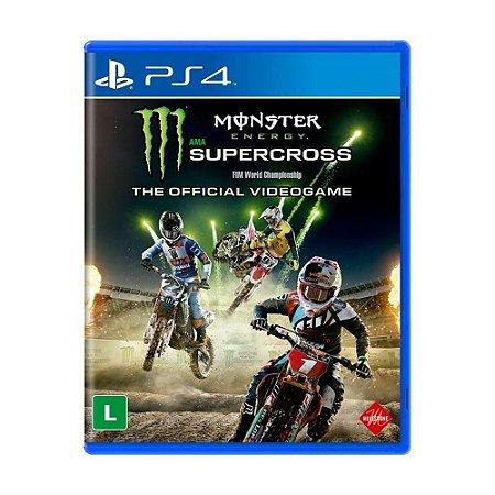 Jogo Monster Energy Supercross - The Official Videogame 2 - PS4
