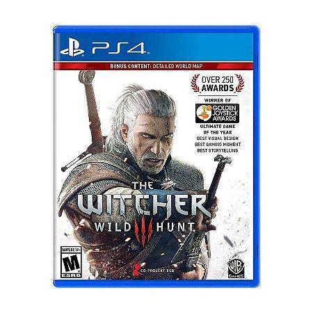 Jogo The Witcher 3: Wild Hunt - PS4