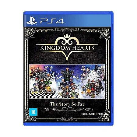 Jogo Kingdom Hearts: The Story So Far - PS4