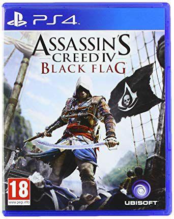 Jogo assassin's creed black flag ps4