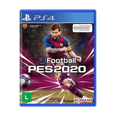 Jogo eFootball Pro Evolution Soccer 2020 - PS4
