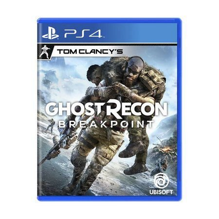 Jogo Tom Clancy's Ghost Recon Breakpoint - PS4
