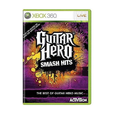 Jogo Guitar Hero Smash Hits - xbox 360 Usado