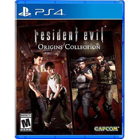 Jogo Resident Evil: Origins Collection - PS4