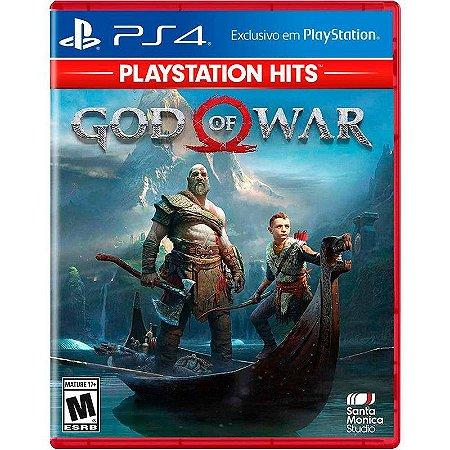 Jogo God of War - PS4 ( Hits )