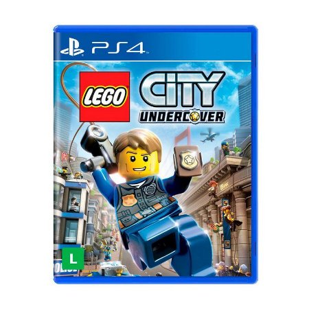 jogo Lego City Undercover BR - Ps4