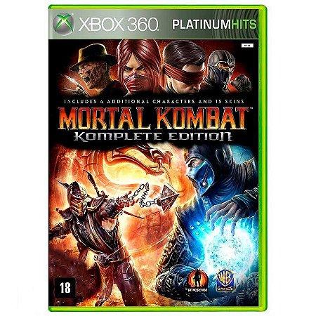 Jogo Mortal Kombat (Komplete Edition) - Xbox 360 (Usado)