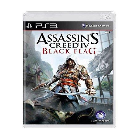 Jogo Assassins Creed IV Black Flag - Ps3 Usado