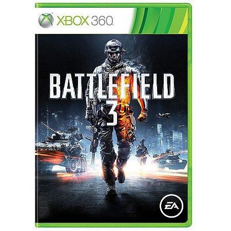 Jogo Battlefield 3 - Xbox 360 Usado