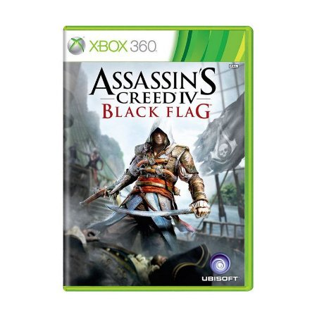 Jogo Assassins Creed IV Black Flag - Xbox 360 Usado